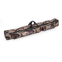 fishing rod bag - Large Capacity M Fishing Bag Double Layer Fishing Rod Tackle Bag Camouflage H10622