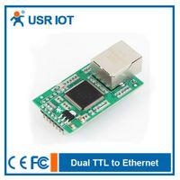 Wholesale USR TCP232 E2 Ethernet Module UART TTL to LAN Converter Support Modbus RTU to Modbus TCP