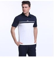 Wholesale Mens golf shirts branded JL polo tshirts new arrival short sleeve fashionable Golf T shirt top quality