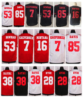 49ers - 2016 Elite Mens ERS Torrey Smith DEFOREST BUCKNER NaVorro Bowman Carlos Hyde Stitched Jerseys Free Drop Shipping