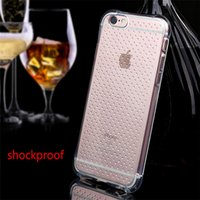 Cheap For Apple iPhone Shockproof Clear Case Best TPU Transparent iphone 6s Skin Soft TPU Transparent