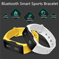 alert yellow - Sport Bluetooth Wireless Outdoor Fitness Wristband Watch LED Display Call Alert Digital Watches Sports Watches