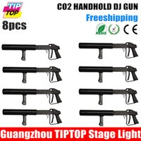 Wholesale Freeshipping Co2 DJ Gun Handheld Stage Effect Light High Quality Night Club DJ CO2 Jet machine Special Effect Co2 Party