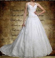 accent model - New A Line Lace Tulle Halter Ball Gown With Sweetheart Neckline Swarovski Crystal Accents Wedding Dresses Wedding Dress