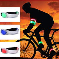 Wholesale New Arrival Big Sale Set Portable MTB Bike Bicycle Leg Arm Led Light Outdoor Night Cycling Running Party Sports Waistband