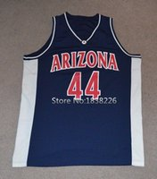 arizona wildcats college - Richard Jefferson Arizona Wildcats Basketball Jersey College Vintage Jerseys Navy Blue Stitched Custom Name and Number