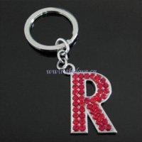 alphabet keychains - fashion rhinestone letter keychains alphabet keychains bulk order available purse keychain purses keychain
