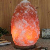 ar crystal - Himalayan Natural Rock Salt Lamp Natural Ar Purifier Night Light Natural Home Decor Yoga Lamp Atmosphere Home Decorative Lamp