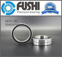 Wholesale 6810 RS ABEC x65x7MM Metric Thin Section Bearings RS RS