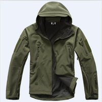army tactical gear - Fall Mens TAD Gear soft shell outdoor fleece waterproof jackets Men tactical camouflage army military hunting clothes brand jacket