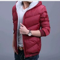 animal ribs - The brand new men s cotton padded jacket winter down cotton padded coat skinny short thickening cotton clothes