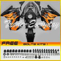 Cheap ABS Fairing Kit Fit CBR600 F2 1991-1994 CBR 600 91-94 Orange Black 21N44