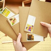 Wholesale hotsale office and school supplies brown kraft vintage notebook notepad sketchbook diary notebooks CM