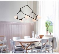 Wholesale Tree Branches Seed Chandelier Postmodern Design Art Deco LED Suspension Lamp Living Room Hotel Light Fitting LT