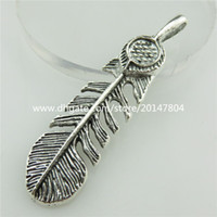 banana leaf plant - 18726 X Vintage Silver Filigree Plant Banana Leaf Bail Feather mm Pendant