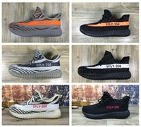 Wholesale 6 Colors New Release Season SPLY Boost New Kanye west Boost Sply V2 Grey black Running Shoes Orange Stripe size36