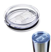 silicone cup lid - For YETI Cup Lids Rambler Tumbler Spillproof Cups Lids with Slider Closure Splashproof Cover oz oz fit Vacuum Lid Replacement Tumbler