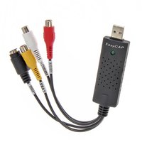 Wholesale USB Audio Video VHS to DVD PC Converter Capture Card Adapter win