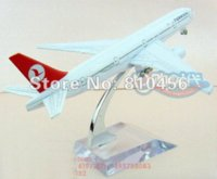 aviation airlines - Turkis Airlines gift B777 cm rc plane model metal airplane models aviation model aircraft diecast model