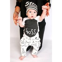 baby boy shorts pattern - 2016 new Autumn baby clothing baby boy clothes Letter pattern baby Romper baby girl clothes newborn clothing set AS