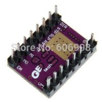 Cheap 5pcs lot StepStick DRV8825 Stepper Motor Driver Carrier Reprap 4 Layer PCB Board For 3D Printer Other Electronic Components