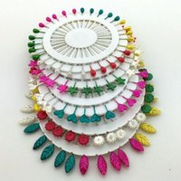 Wholesale 360pcs Mixed Colors flower leaf Heart design Head pins Weddings Corsage Florists Dressmaking Decorating Sewing Pins sewing tool