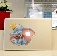 Wholesale Hottest MacBook Sticker Skin protector for Apple MacBook dumbo pro13 pro15 pro17 retina13 retina15 air11 ari13 cun