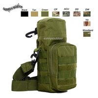 baseball water bottles - Outdoor Sports Molle Hydration Pack Assault Combat Military Camouflage Molle Bag Tactical Molle Pouch Water Bottle Pouch SO11