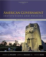 american government - American Government Institutions and Policies