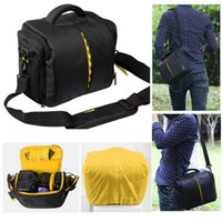 Wholesale NEW SLR Waterproof Camera Bag for Nikon D3200 D3100 D5100 D7100 D5200 D5300 D3300 D90 D7000 D610 P600 P520 Rain Cover Photo Case