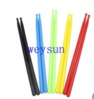 Wholesale Professional A Drumsticks High Quality Nylon Drum Stick Set Lightweight