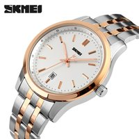 battery corrosion - Fashion new men s watches waterproof watches business casual tide male stainless steel strap quartz watch corrosion resistant watch