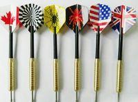 Wholesale dart flights sock dart darks national pastime sport grams copper darts shatterproof plastic dart leaves