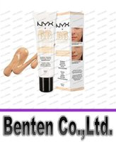 Wholesale Newest NYX BB Cream beauty balm baume beaute brightens smoothes moisturizes oil free Mineral Enriched ml Colors LLFA11