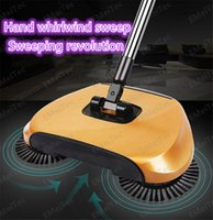 automatic dustpan - new Lazy household cleaning without electricity automatic hand push sweeper broom magic broom dustpan combination package