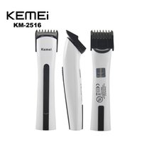 Wholesale Excellent Kemei KM Rechargeable Electric Shaver Razor Beard Hair Clipper Cutting Trimmer Grooming