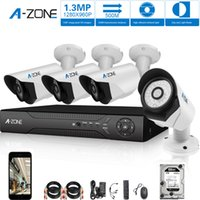 Wholesale A ZONE Channel P AHD Home Security camera system MP waterproof Night vision Indoor Outdoor surveillance with TB HDD