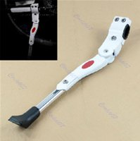 Wholesale Adjustable Bike Side Kickstand Kick Stand For MTB Road Mountain Bicycle Cycling White