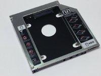 Wholesale 1pcs SATA mm optical drive notebook hard drive bay bracket SSD solid state drive bay hard disk drive bracket Universal