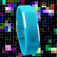 accutron watch - 2016 HBY new arrival high quality LED fashion colourful accutron electronic watch from china