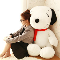 baby snoopy plush - New Arrival Cartoon Snoopy doll plush toy lovely dog pillow doll for baby children best gift