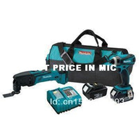 Wholesale 2013 Hotsale Makita LXT246 LXT V Cordless Lithium Ion in Impact Driver and Oscillating Tool Combo Kit