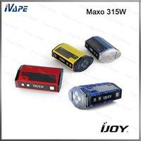 Wholesale 100 Original iJoy Maxo W TC Mod Quad Box Mod Firmware Upgradable With Customizable Appearance Ergonomic Design