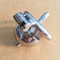 Wholesale Short Solitary Extreme Confinement Chastity Cage Men Penis Restraint Super Small Size Male Chastity Device