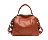 best messager - New Classic Design Women Leather Bags Hot Fashion Female Genuine Leather Messager Bag Vintage Handbag Best