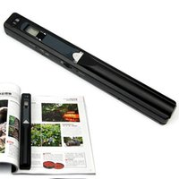 Wholesale HandyScan Office Portable Handheld Scanner Photo Documents Book A4 Scan DPI