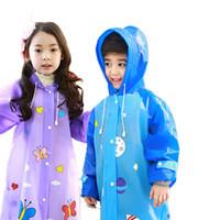 Wholesale 5 Colors Waterproof Hot Export Outdoor Camping Fishing Emergency Waterproof Raincoat Rainwear Children s raincoat For Kids