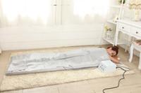 Wholesale 3 zones far infrared sauna blanket for weight loss thermal sauna body detox machine