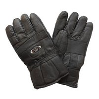 Wholesale Male Winter Cashmere Gloves and Leather Gloves for Motorcycle Riding Foreign Outdoor Pigskin Gloves