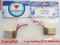 Wholesale 2 Original Battery Li po battery V mAh for Walkera QR W100S NEW V120D02S HM V120D02S Z
